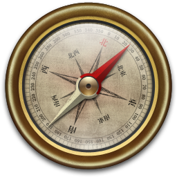 Old compass png. Vintage icon iconset mcdo