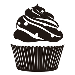 Vector cupcakes illustrated. Collection of download yummy