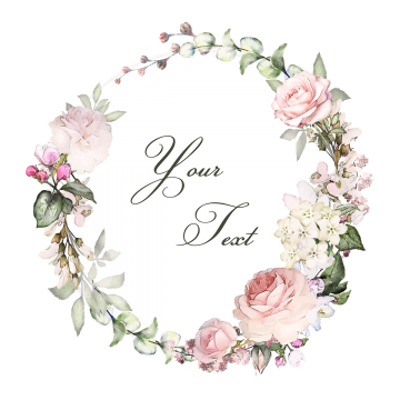 Vintage floral vector png. Vectors psd and clipart