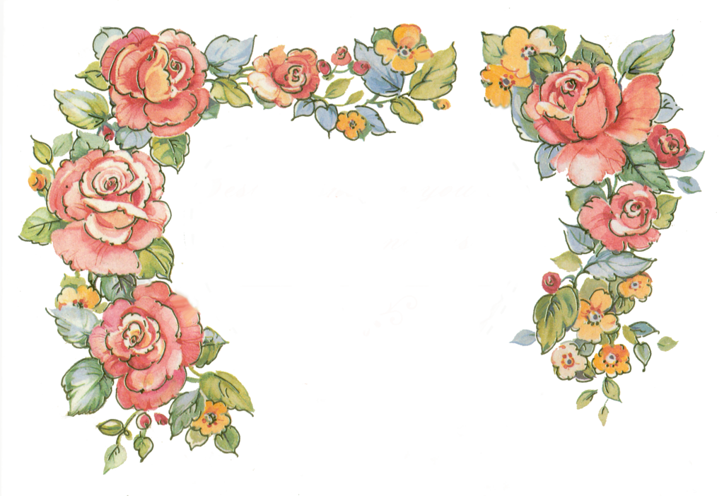 Tumblr border png. Jinifur roses by on