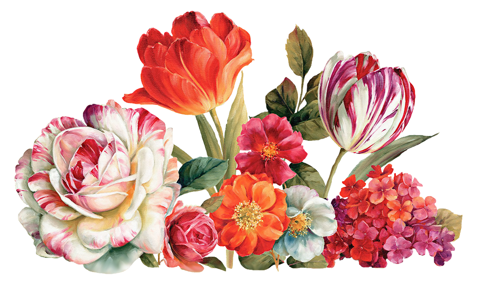 Vintage flower graphic png. Painting by lisa audit