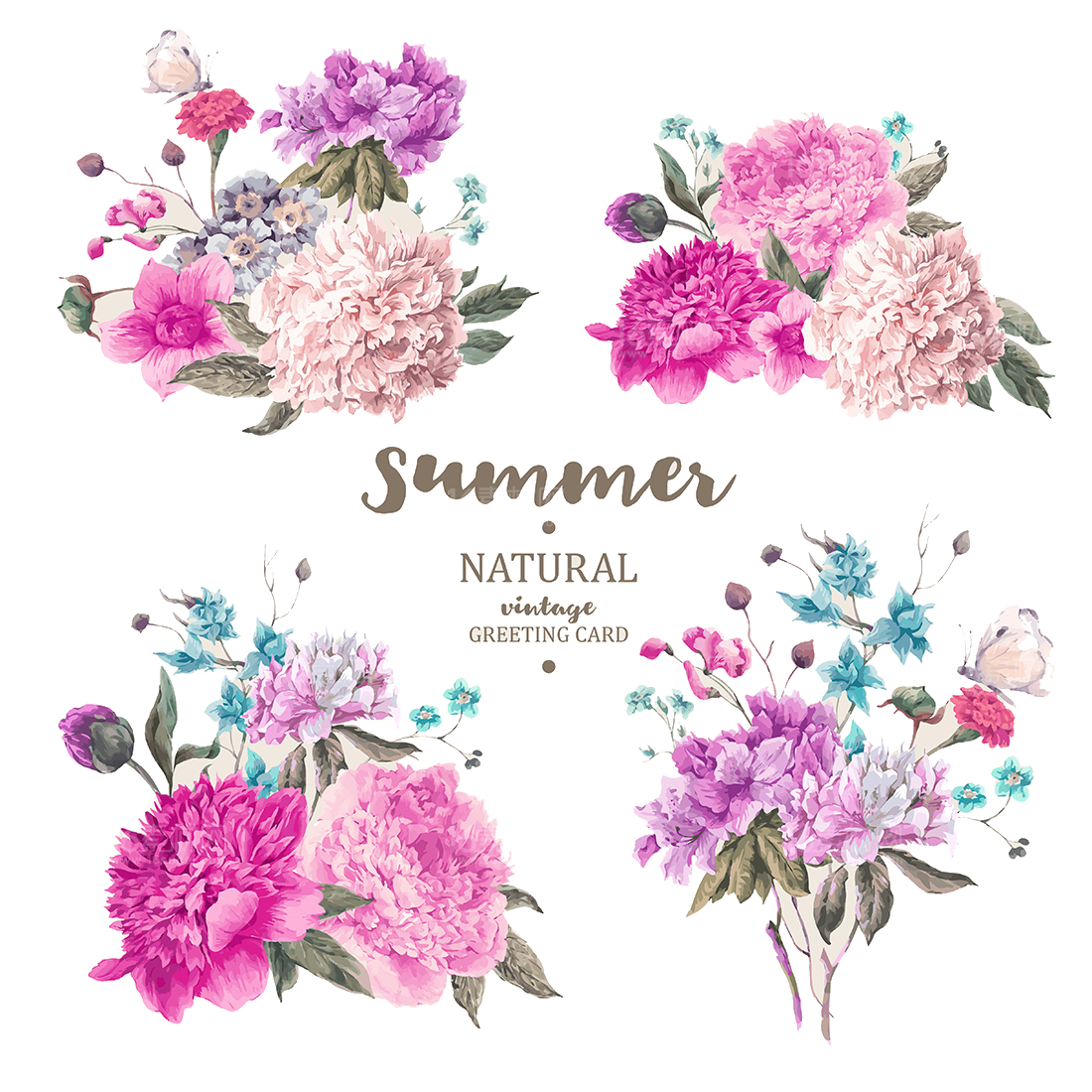 Vintage flowers vector png. Flower stock photography illustration