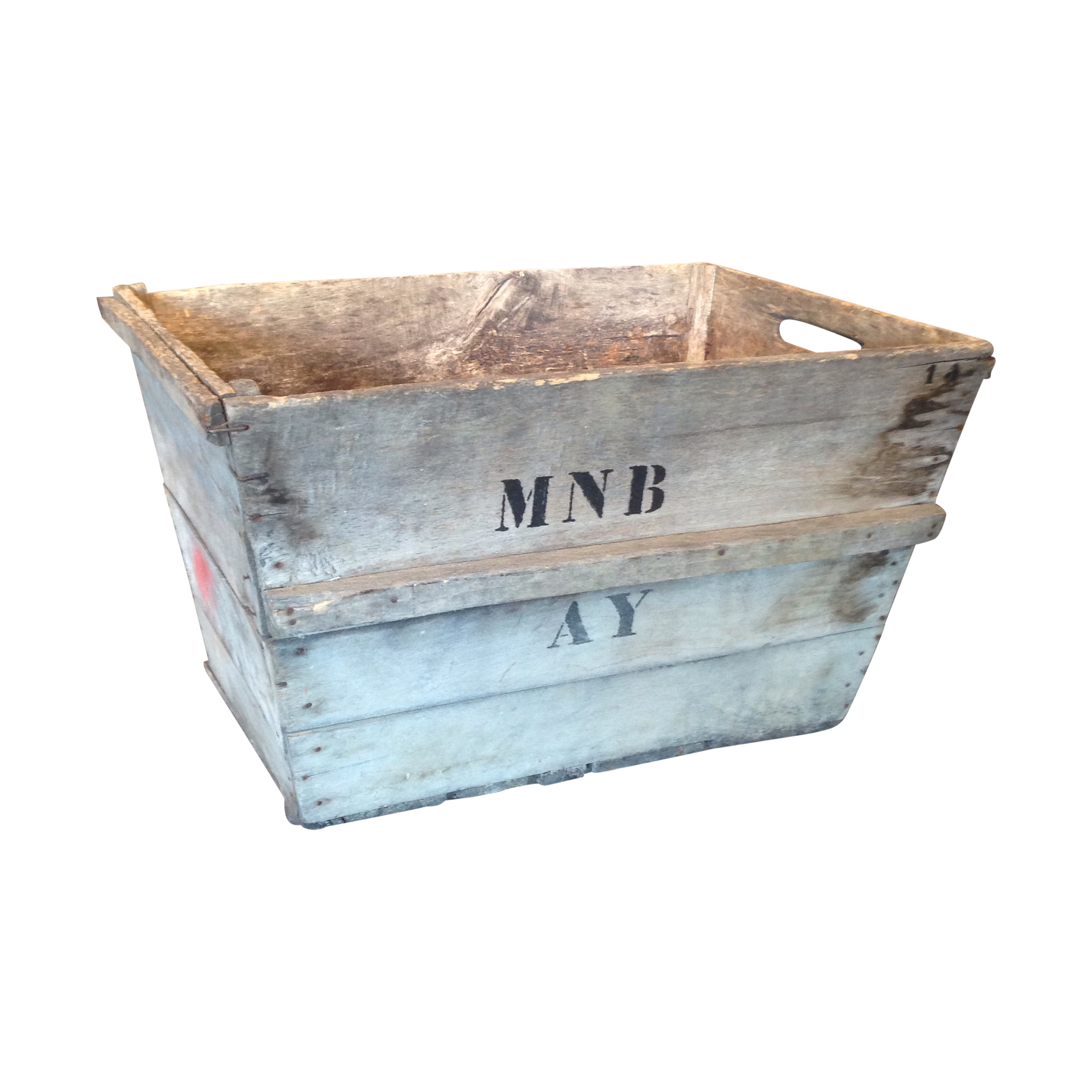 Vintage garden crate png. French champagne chairish