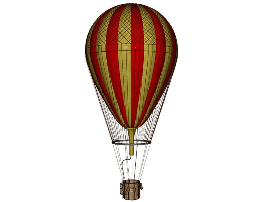 Vintage hot air balloon png. By mysticmorning on deviantart