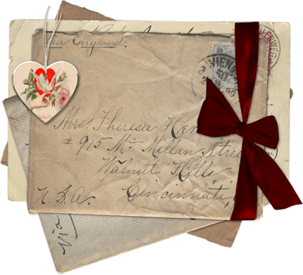 Old letters png. Love please mr postman