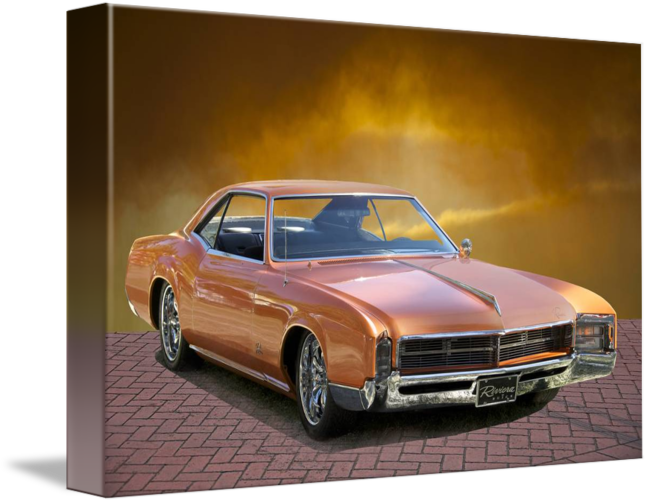 Vintage muscle buick png. Riviera by dave