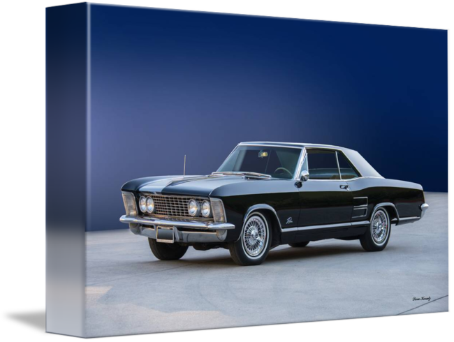 Vintage muscle buick png. Riviera coupe by
