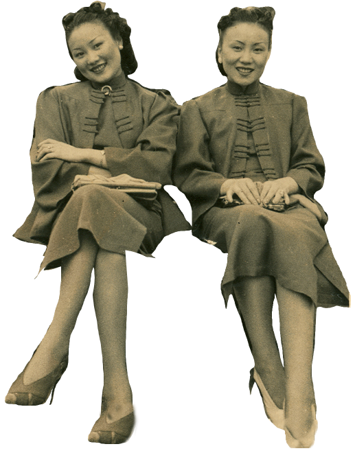 Vintage people png. Cut out from shanghai