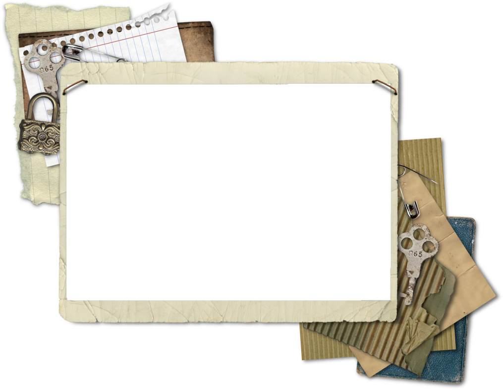 Vintage photo frame png. Cluster by hggraphicdesigns on