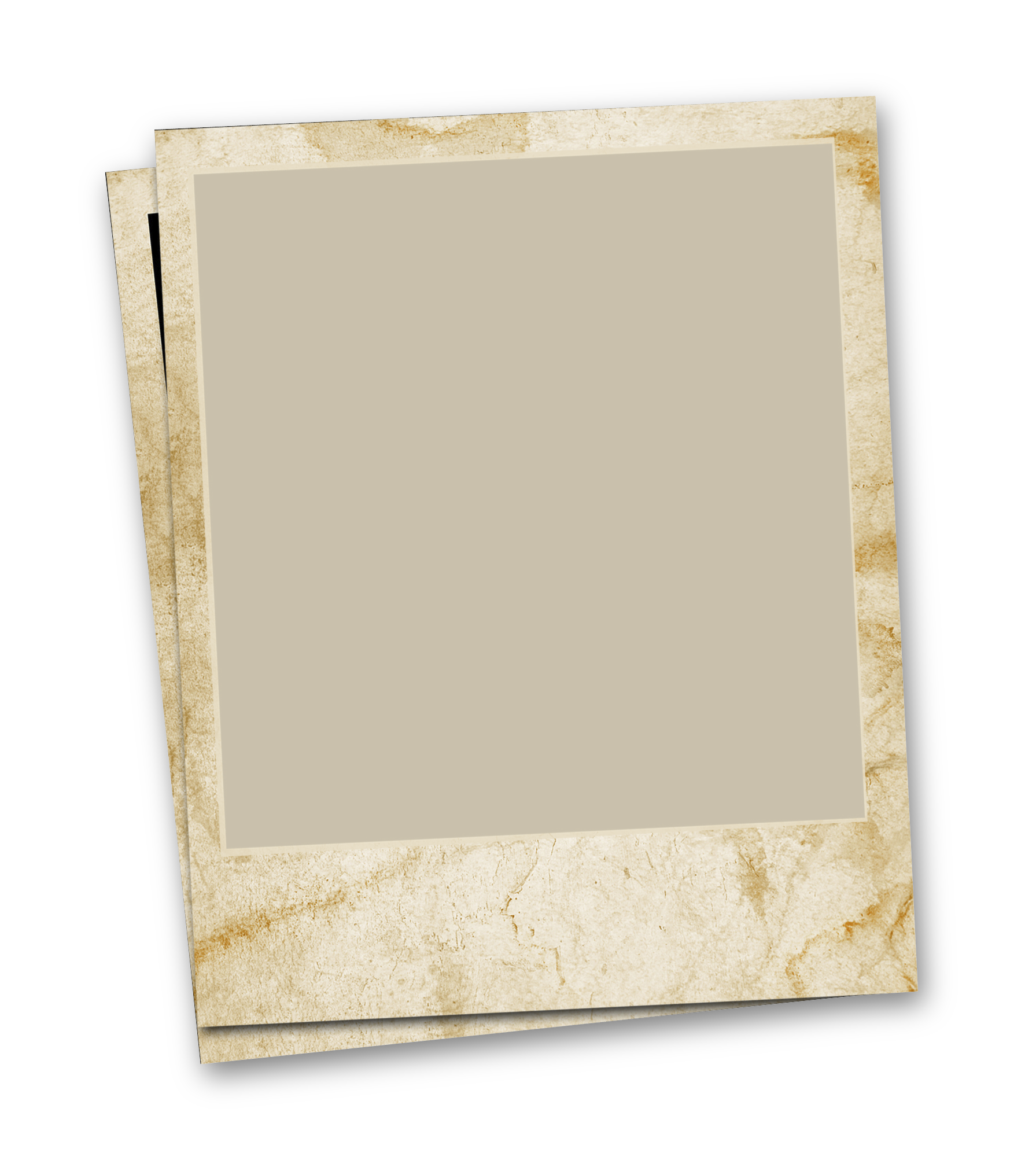 Polaroid picture clipart old. Plywood square rectangle transprent