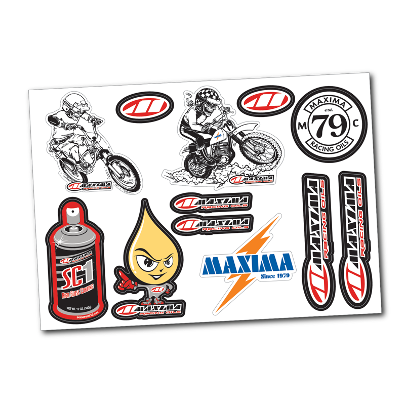 Vintage sticker png. Decal sheet maximausa