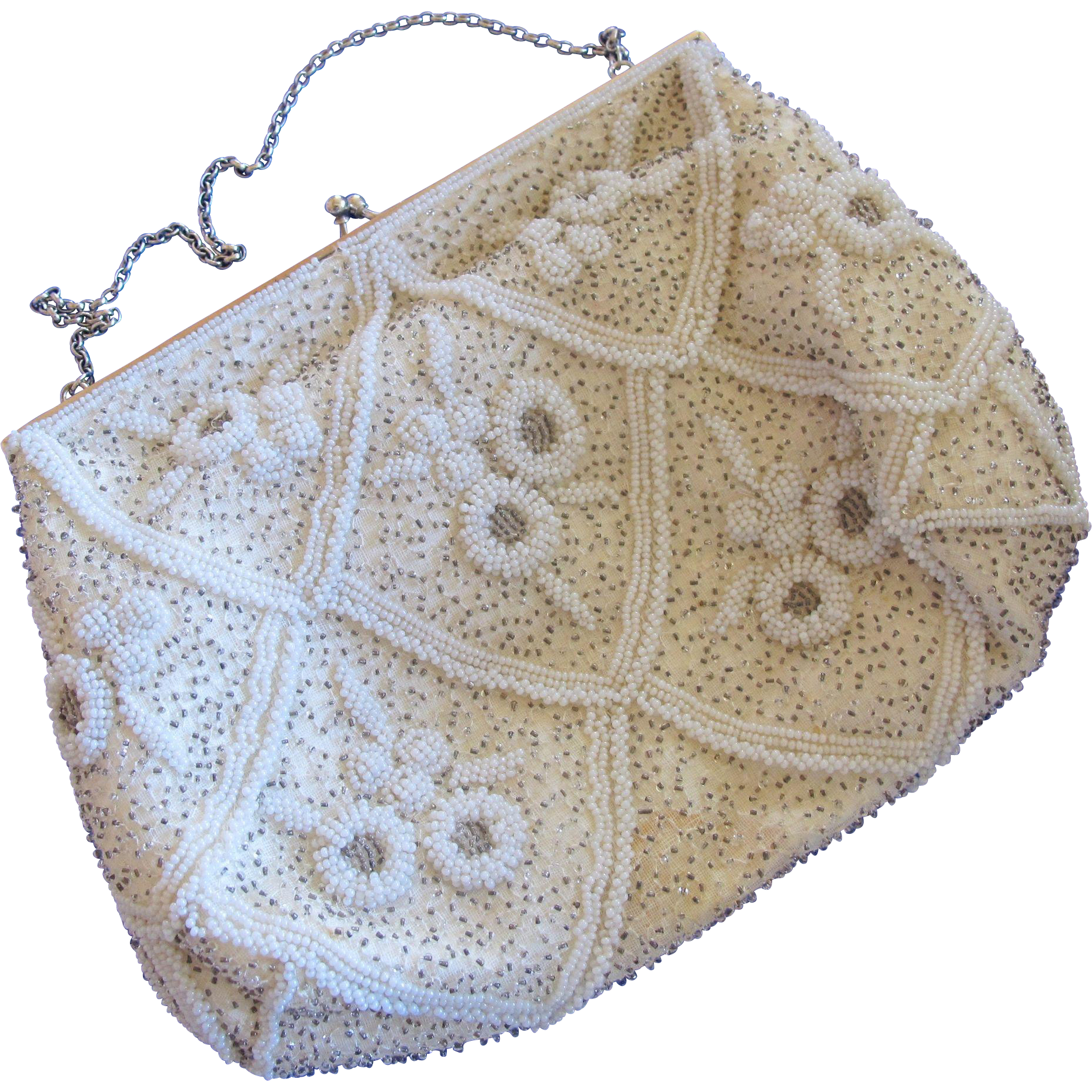 Vintage tag png. Magid hand beaded in