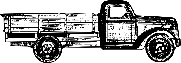 Vintage truck png. Old free clipart