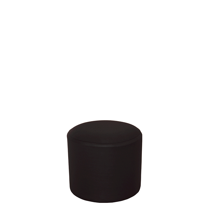 Vinyl cover png. Hire pouffe with black