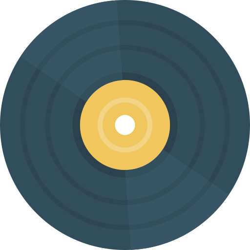 Vinyl icon png. With and vector format