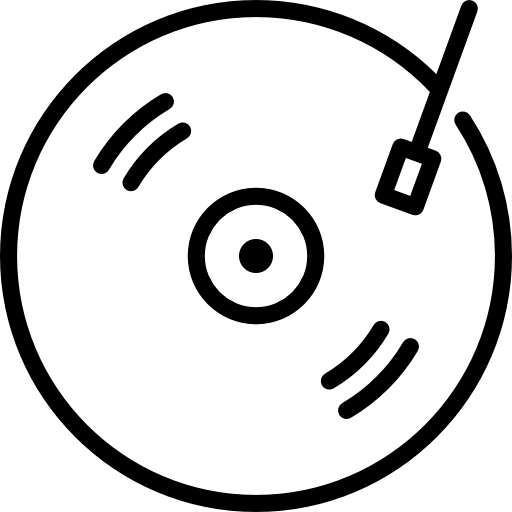 Vinyl icon png. Free music icons