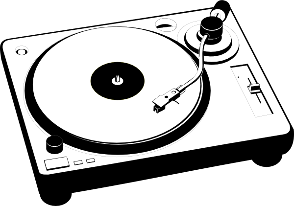 turntables drawing