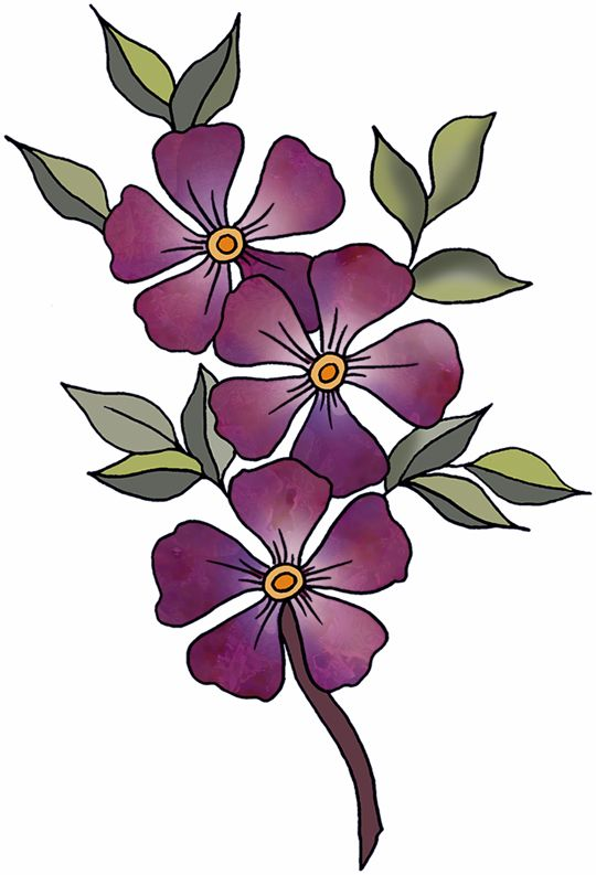 Flower at getdrawings com. Violet clipart image