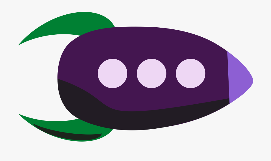 Violet ship. Rocketship clipart rocket oval