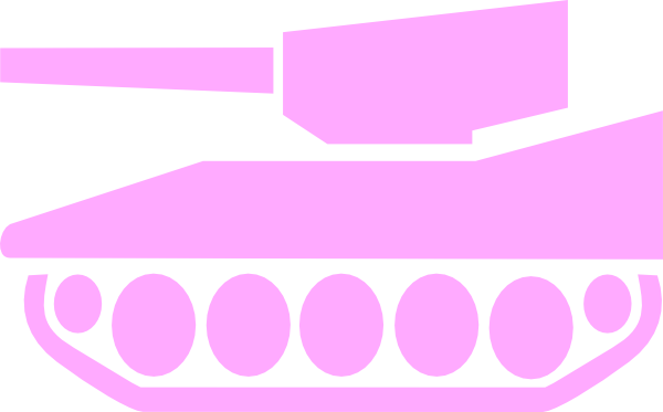 Violet tank. Pink cliparts zone