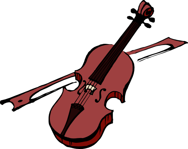 Clip art at clker. Violin clipart graphic royalty free