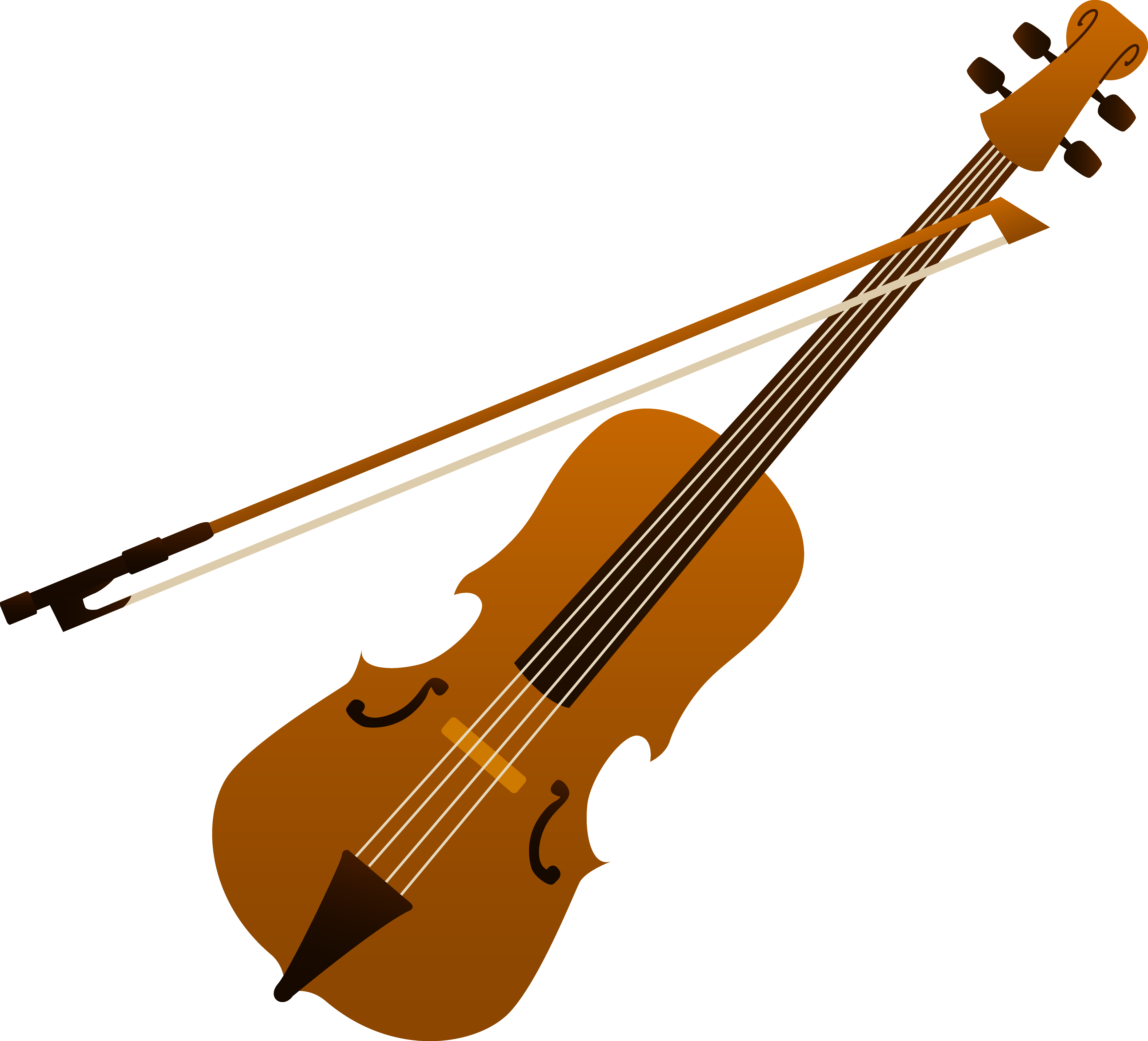 Violin clipart animated. Instrument
