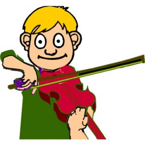 Violin clipart animated. Playing