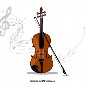 Vectors photos and psd. Violin clipart dan picture library