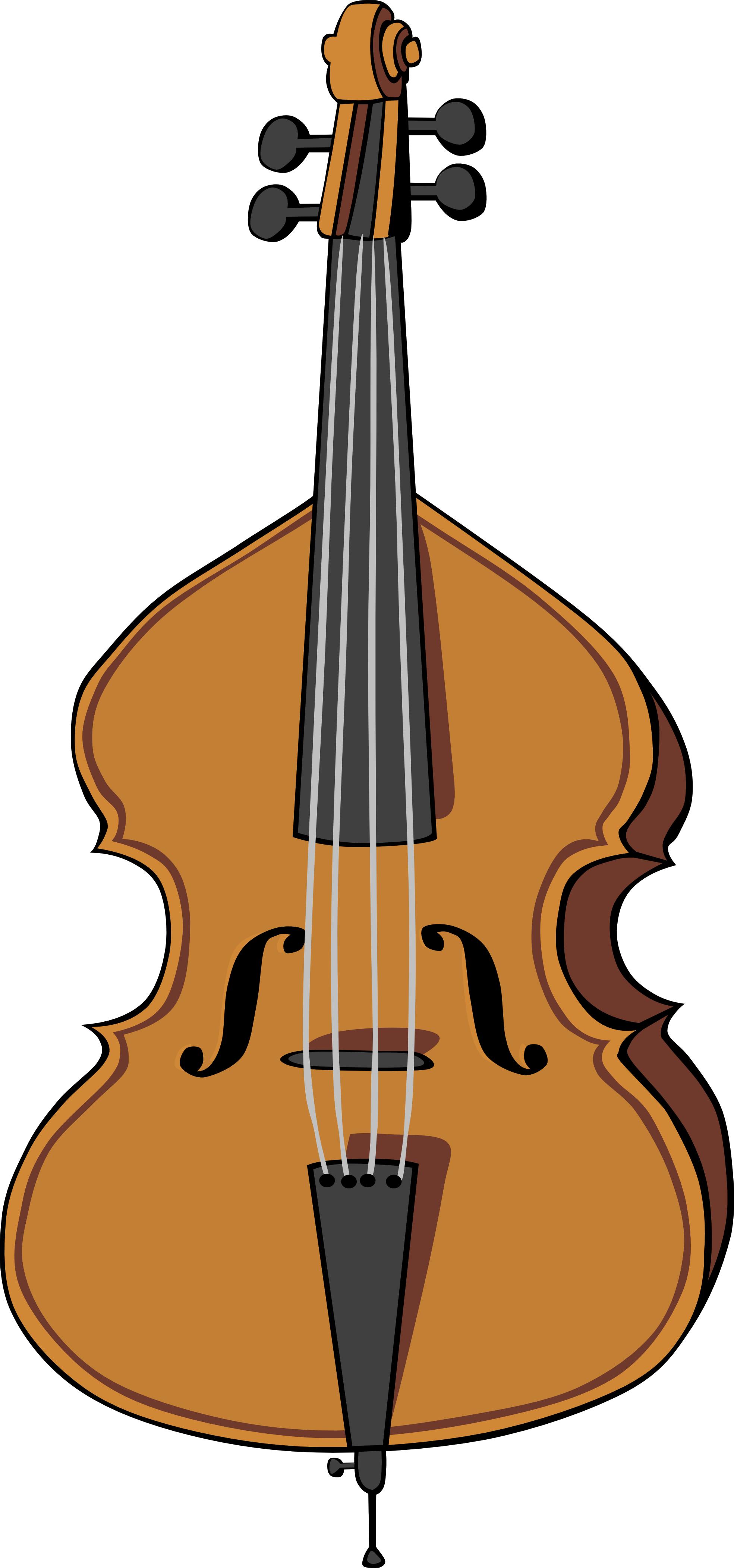 Violin clipart double bass. Image of images clipartoons