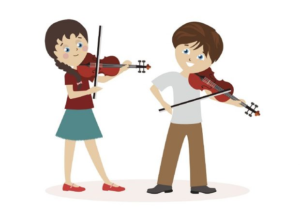 Violin clipart kid. Things you learn