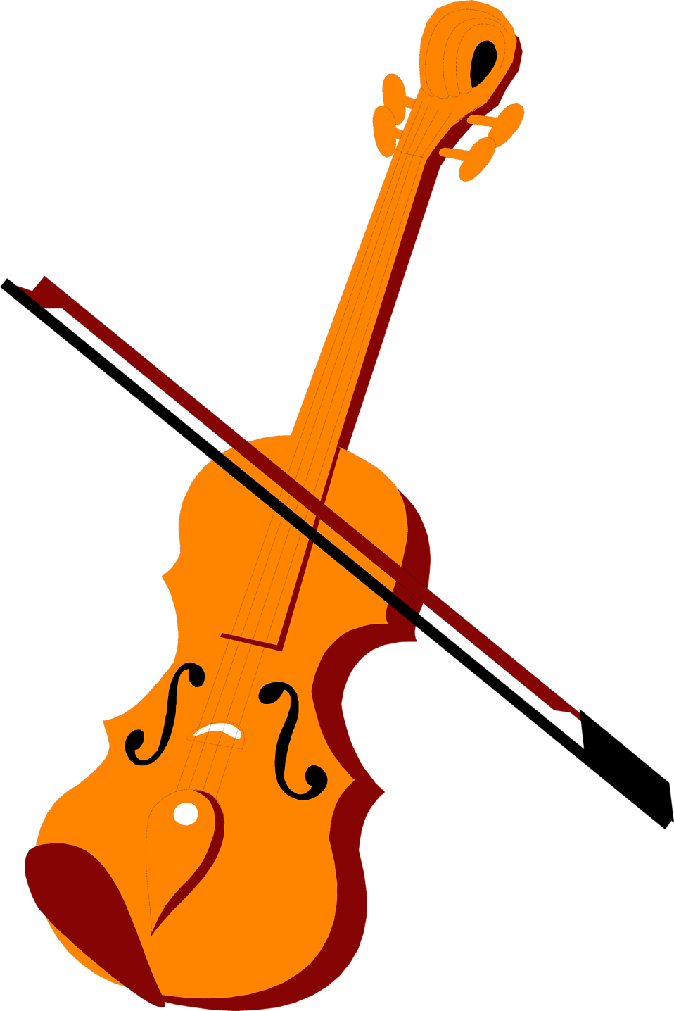 Violin clipart png. Free stock photo illustration