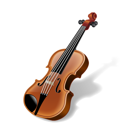 Violin playing png. Music by eggsplode design