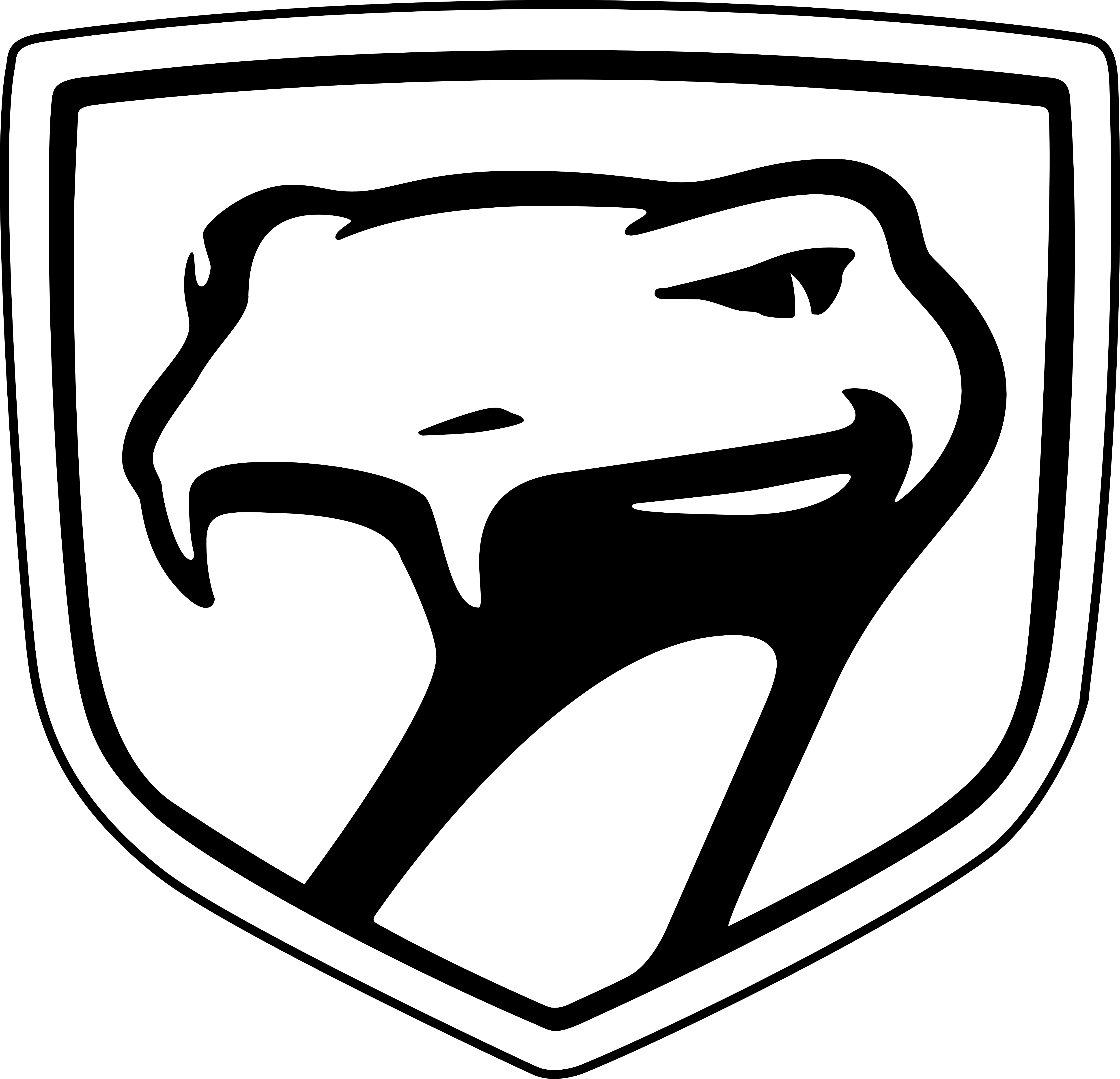 Viper logo fangs black and white png. Logos dodge download