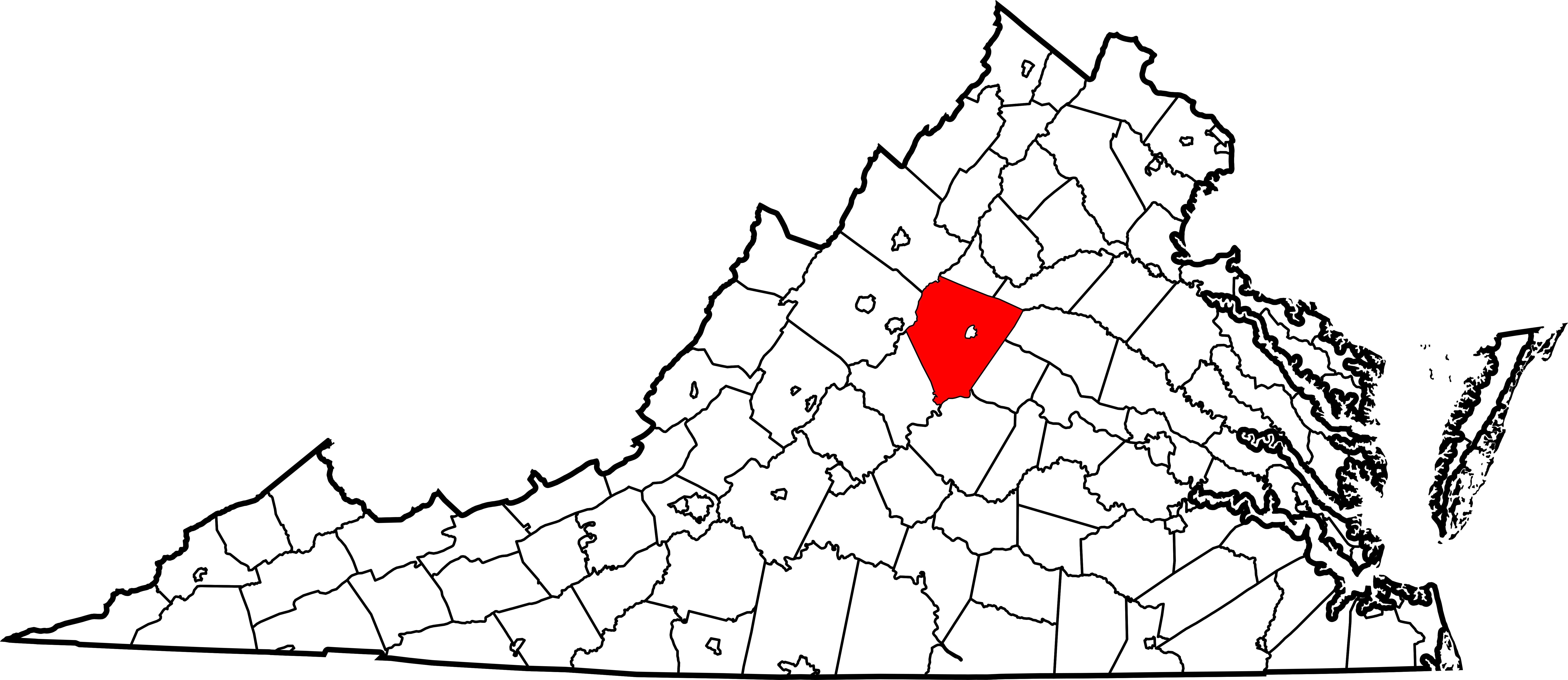 virginia state outline png