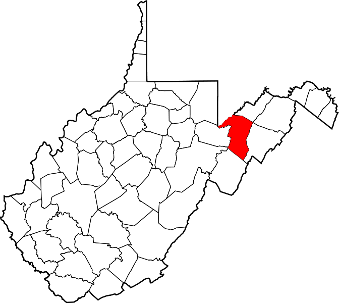 Virginia state outline png. File map of west