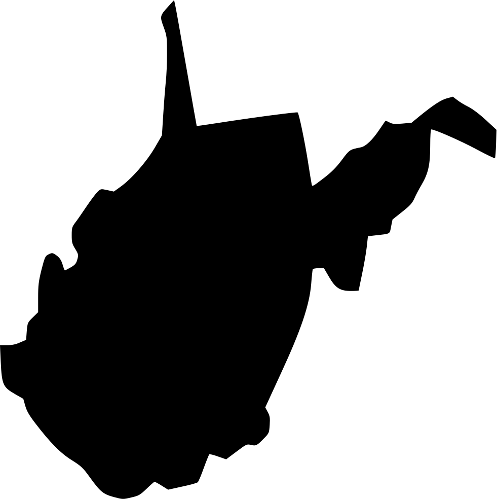 Virginia svg. West png icon free