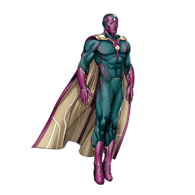 Vision png marvel. Avengers characters hq