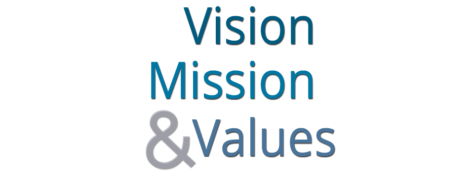 Vision statement png. Mission values of st