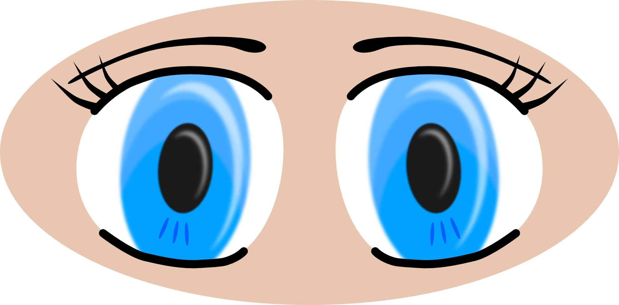 Vision vector simple eye. Closed drawing at getdrawings