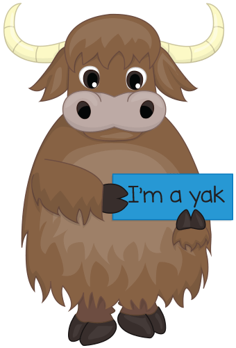 Yak clipart trainer. How to build your