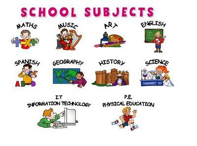 Vocabulary clipart fun. English is for th
