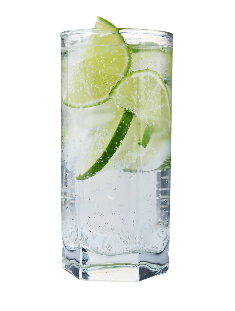 Vodka glass png. Tonic cocktail gin and