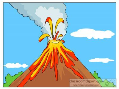 Clipartaz free collection pendidikan. Volcano clipart picture black and white library