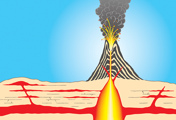 Volcano clipart. The arts image pbs