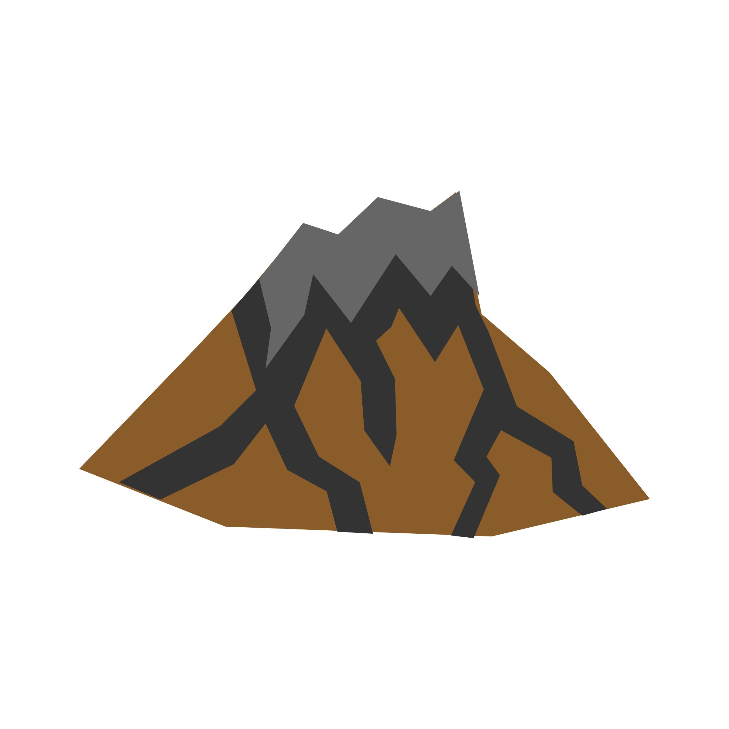 Volcano clipart active volcano. Dormant icons png free