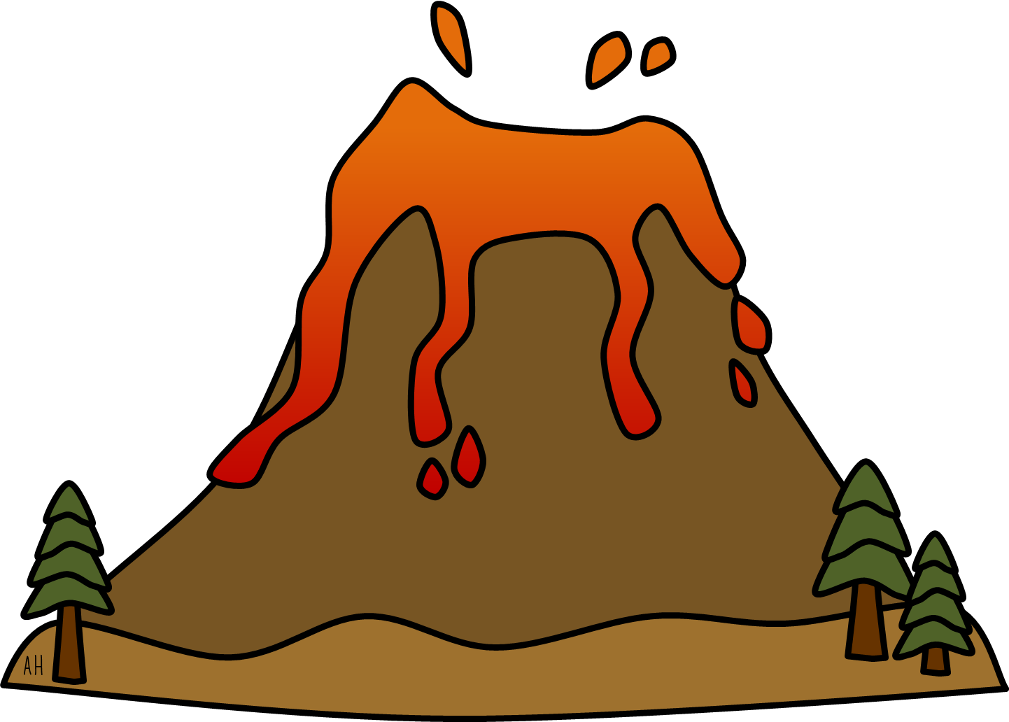 transparent volcano ks2