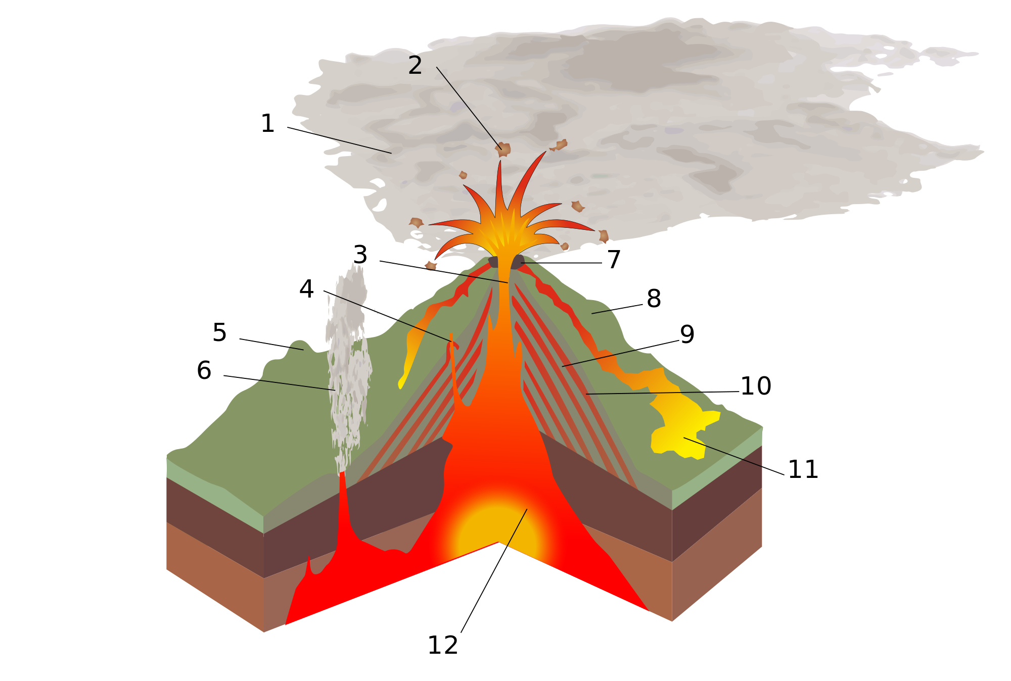 Transparent volcano svg. File structure numbered wikimedia