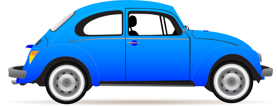 Volkswagon drawing profile. Volkswagen beetle cartoon free