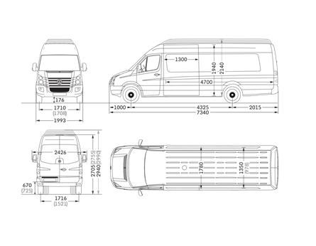 volkswagen drawing crafter