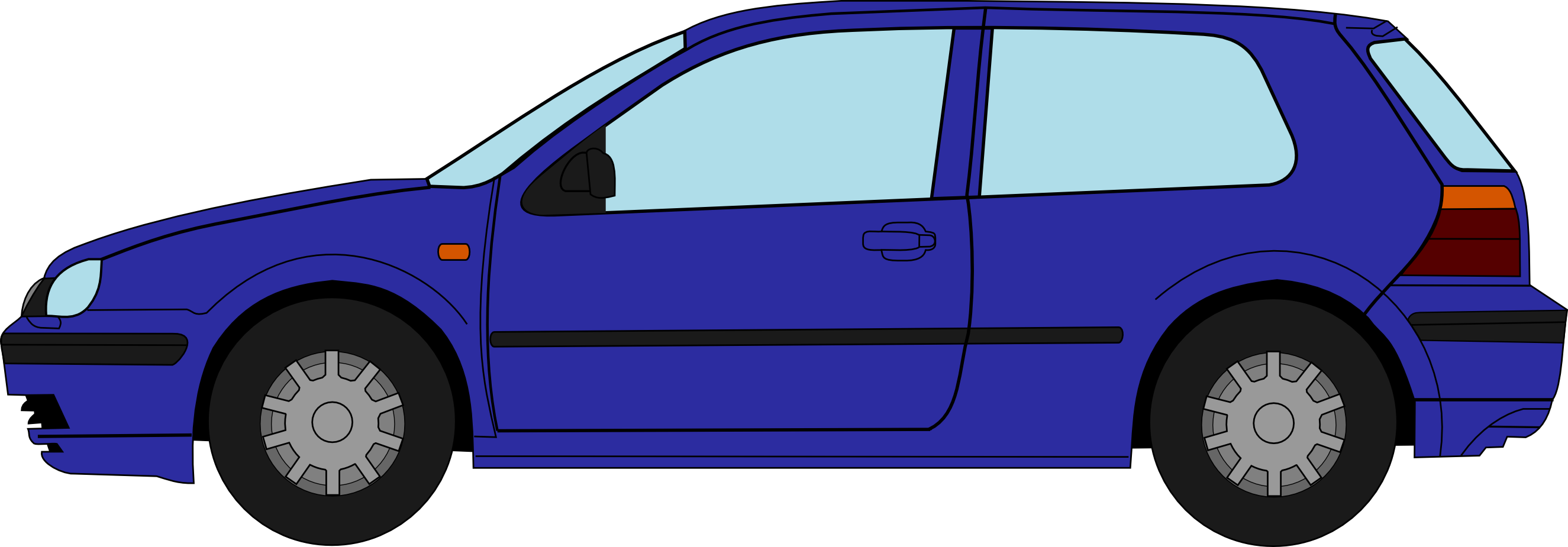 Collection of golf. Volkswagen drawing vw polo banner